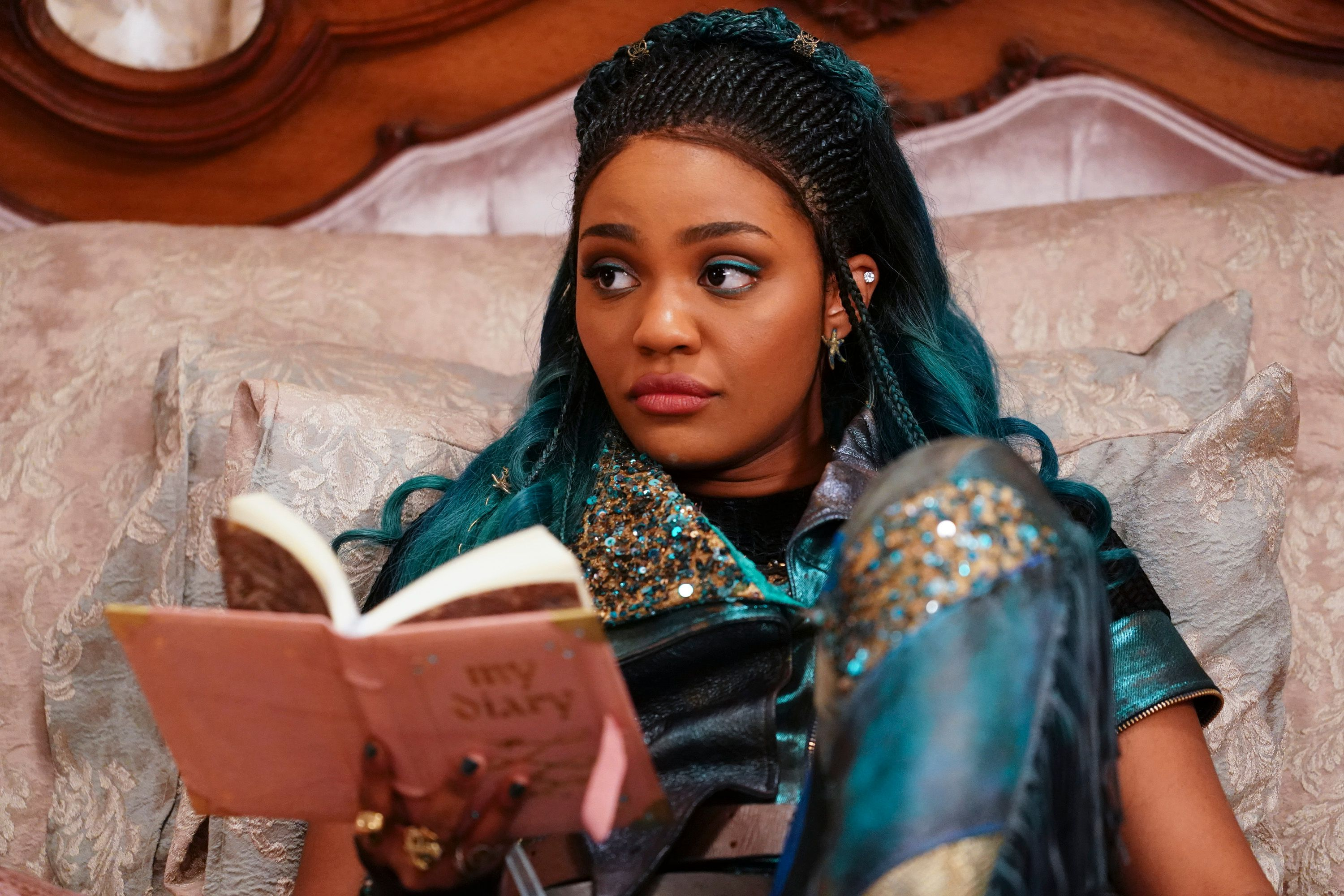 """China McClain stars in Disney's """"Descendants 3.""""   Source: Getty Images"""