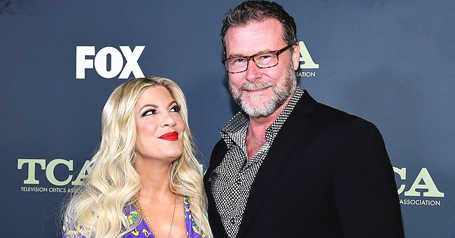 Tori Spelling Shares Family Holiday Card with Her 5 Kids but Dean McDermott Is Absent