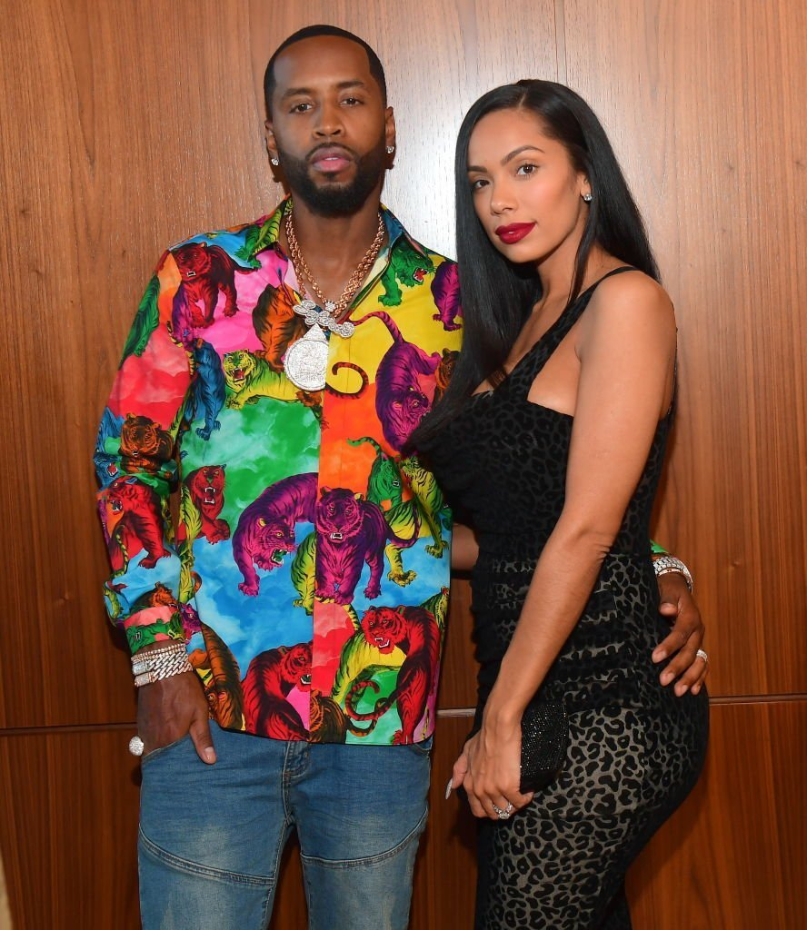 Safaree Samuels and Erica Mena attend The 2019 BMI R&B/Hip-Hop Awards  on August 29, 2019 in Sandy Springs, Georgia. | Source: Getty Images