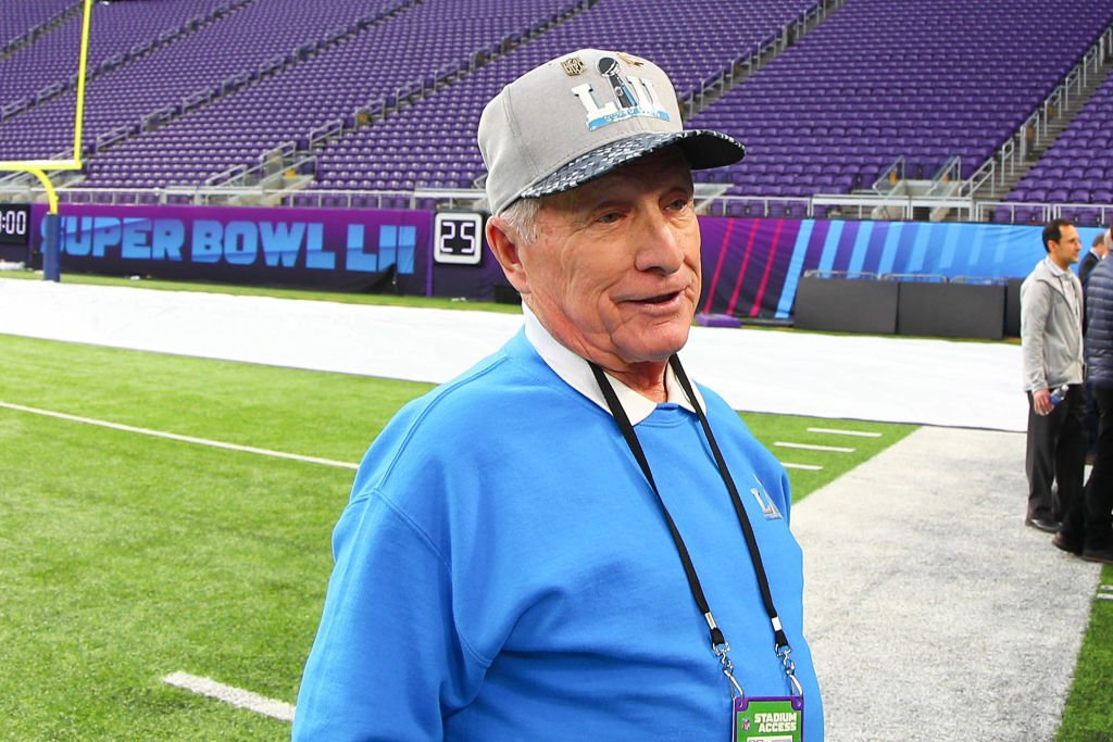 George Toma at the 52nd Super Bowl at the US Bank Stadium in Minneapolis on January 30, 2018.   Photo: Getty Images