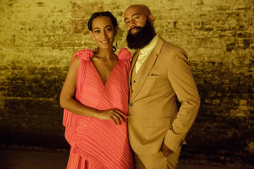 """Solange Knowles and Alan Ferguson attend """"A Seat At The Table"""", a listening event for Solange's new album at Saint Heron House on October 7, 2016 in New Orleans, Louisiana. 
