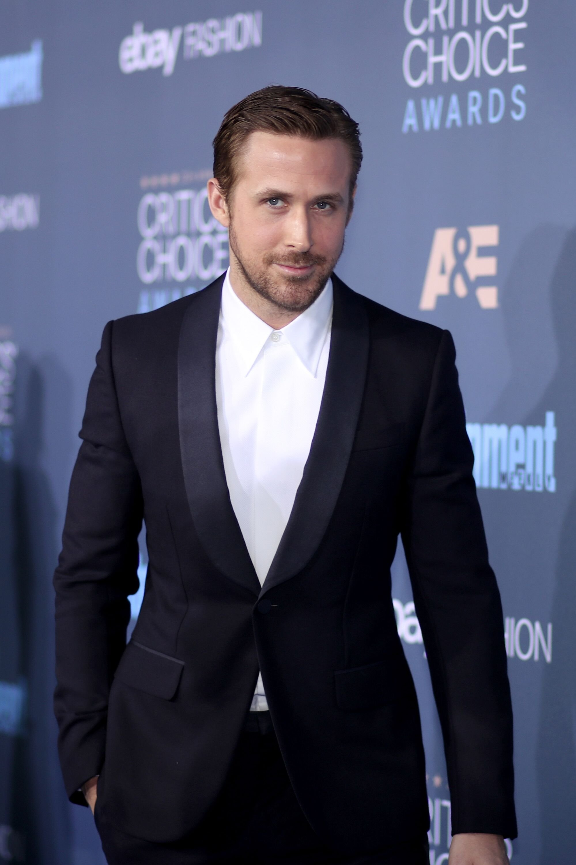 Ryan Gosling attends The 22nd Annual Critics' Choice Awards at Barker Hangar. | Source: Getty Images