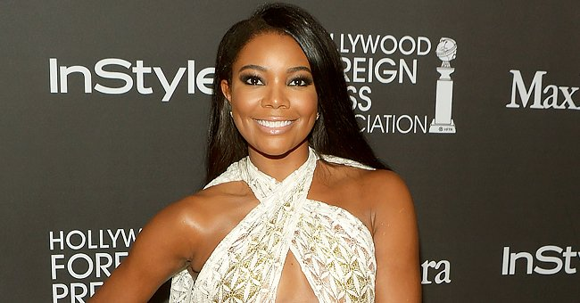 Gabrielle Union's Baby Kaavia Looks like a Princess with a Tiara on Her Afro Hair in Cute Photo