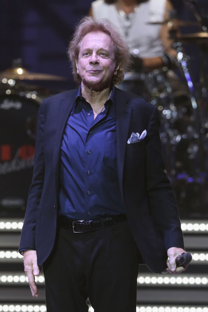 Eddie Money performs during the REO Speedwagon benefit concert. | Source: Getty Images