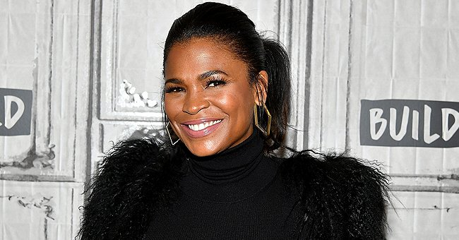 Check Out Nia Long's Braided Locks in New Pictures, One of Them Featuring Her Son Kez