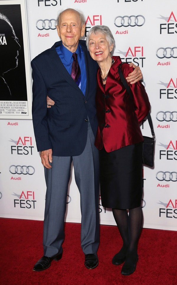 Rance Howard and wife Judy Howard at the TCL Chinese Theatre on November 11, 2013 in Hollywood, California | Source: Getty Images