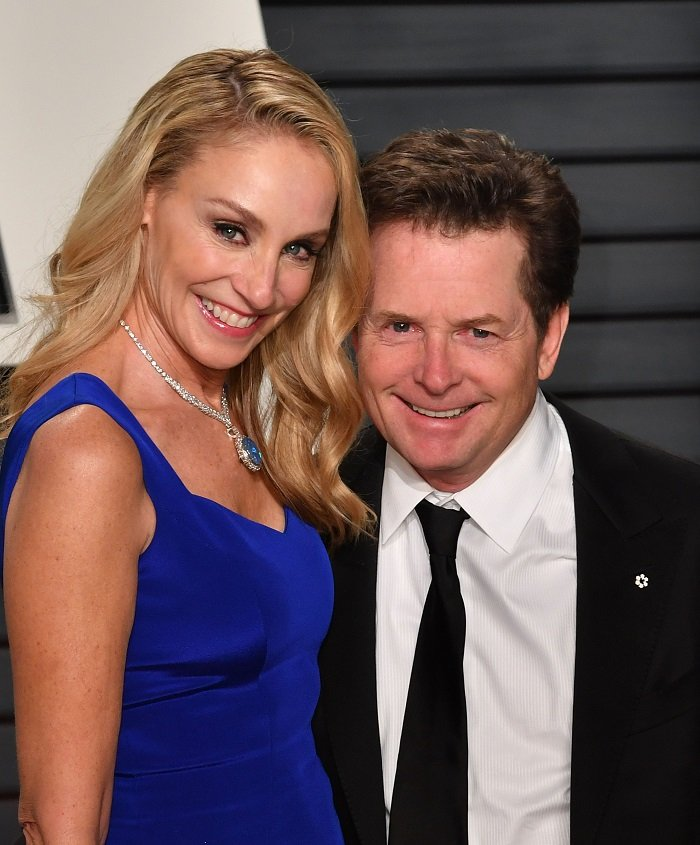 Michael J. Fox and Tracy Pollan I Image: Getty Images
