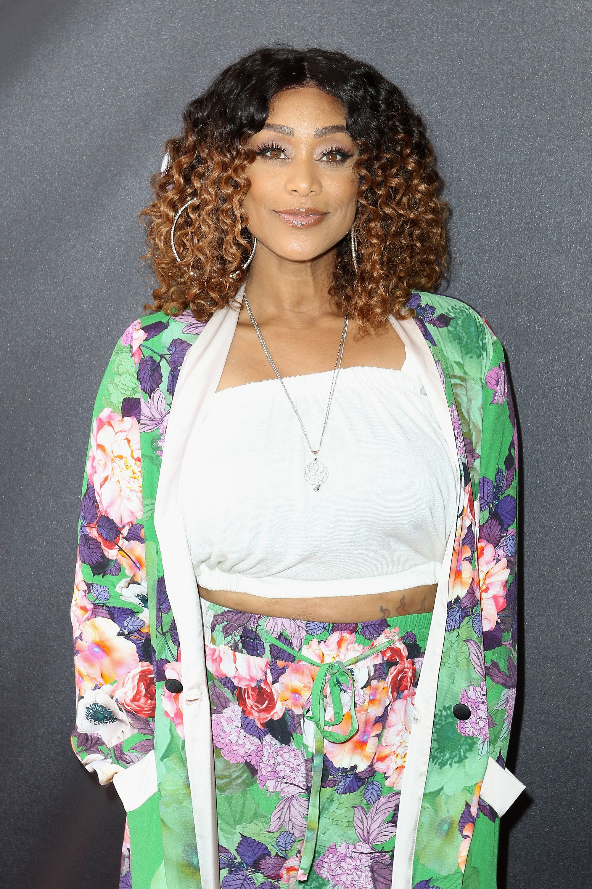 """Actress Tami Roman attends the TV One World Premiere Of """"When Love Kills: The Falicia Blakely Story"""" at Colony Theater 