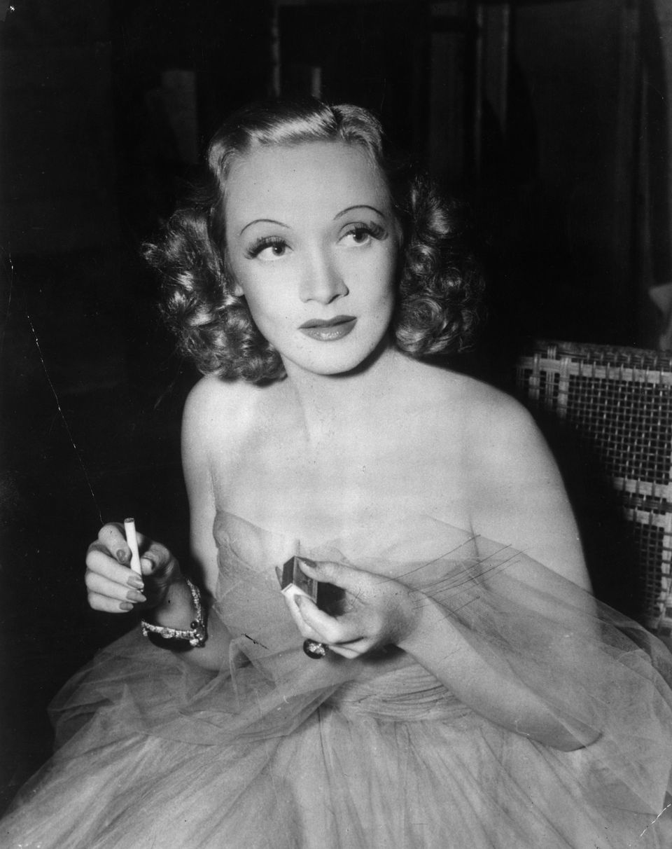 A portrait of German born actress and singer Marlene Dietrich on January 01, 1937 | Photo: Getty Images