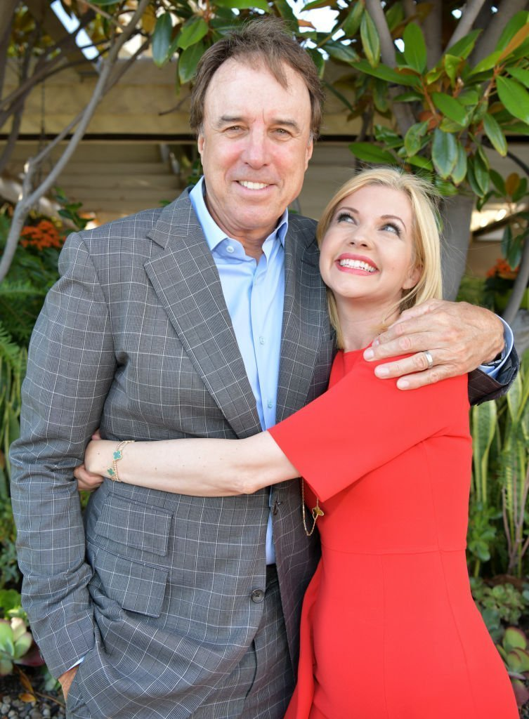 """Kevin Nealon (L) and Susan Yeagley pose for portrait at the media launch party the new book """"Beating Endo"""" at Four Seasons Los Angeles at Beverly Hills 