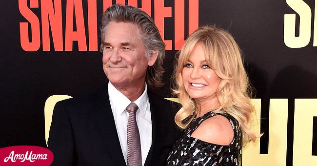 Goldie Hawn and her partner of four decades Kurt Russell. | Source: Getty Images