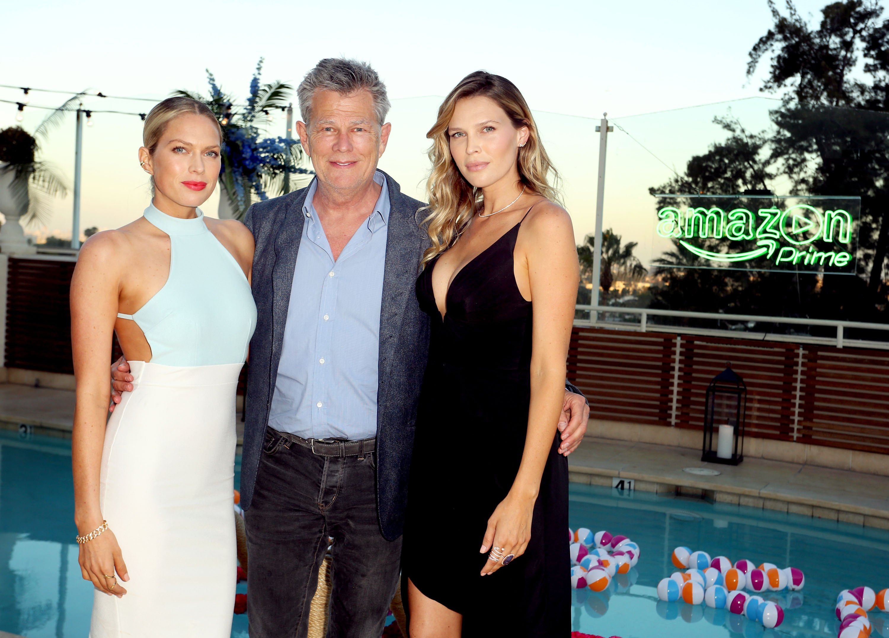 Erin Foster, David Foster, and Sara Foster attend Amazon Prime Summer Soiree hosted by Sara Foster and Erin Foster on July 16, 2015, in West Hollywood, California.   Source: Getty Images.