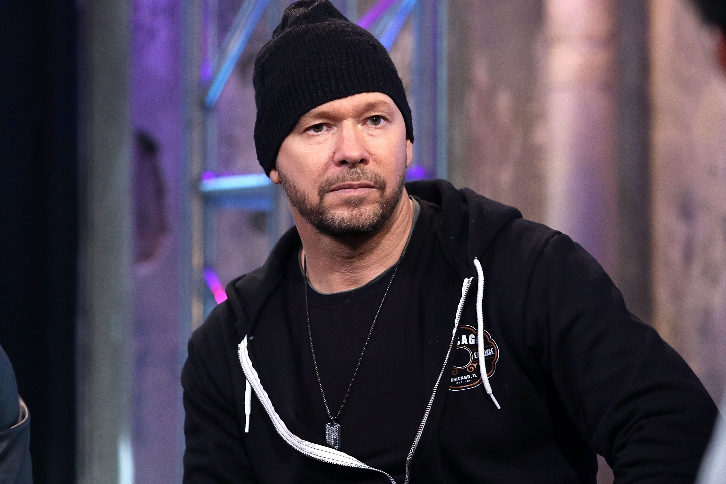 """Donnie Wahlberg of New Kids on the Block attends AOL Build Speaker Series to discuss """"Rock this Boat: New Kids on the Block"""" Season 2 at AOL Studios In New York on June 9, 2016, in New York City. 