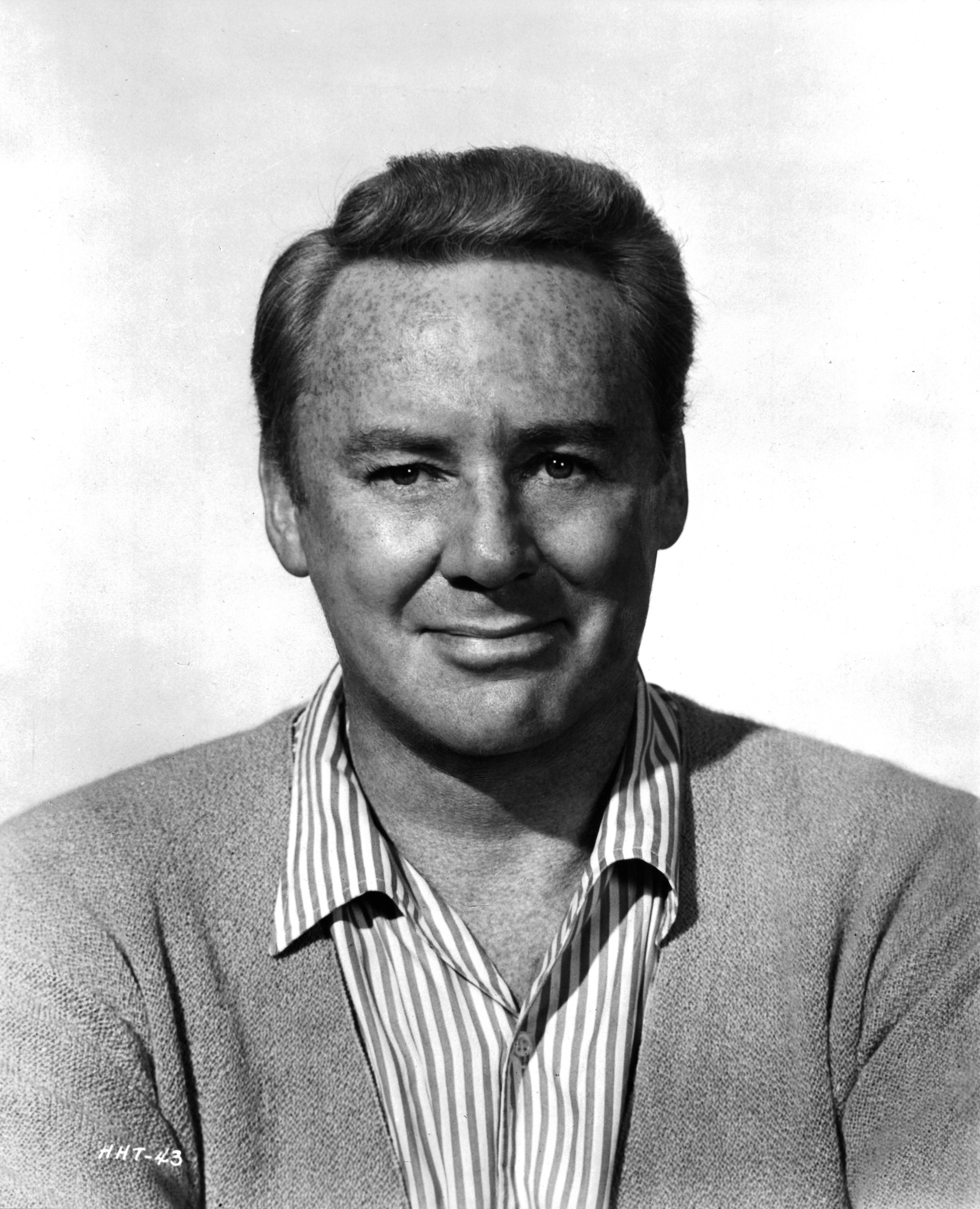 """Actor Van Johnson poses for the movie """" Yours, Mine and Ours"""" in 1968. 