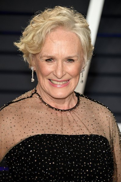 Glenn Close at the 2019 Vanity Fair Oscar Party in Beverly Hills, California. | Photo: Getty Images
