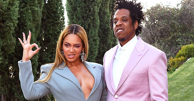 Beyonce & Jay Z's Fans Defend Them after Carrying Their Twins without Face Masks