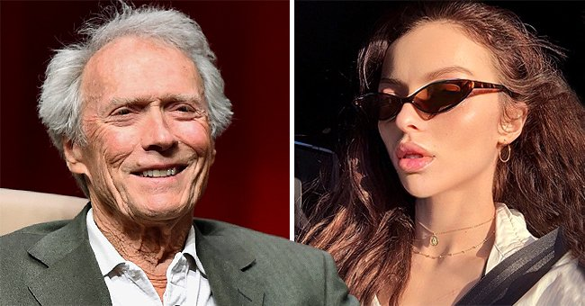 See Clint Eastwood's Look-Alike Daughter Francesca's Modeling Skills as She Sports Dark Hair
