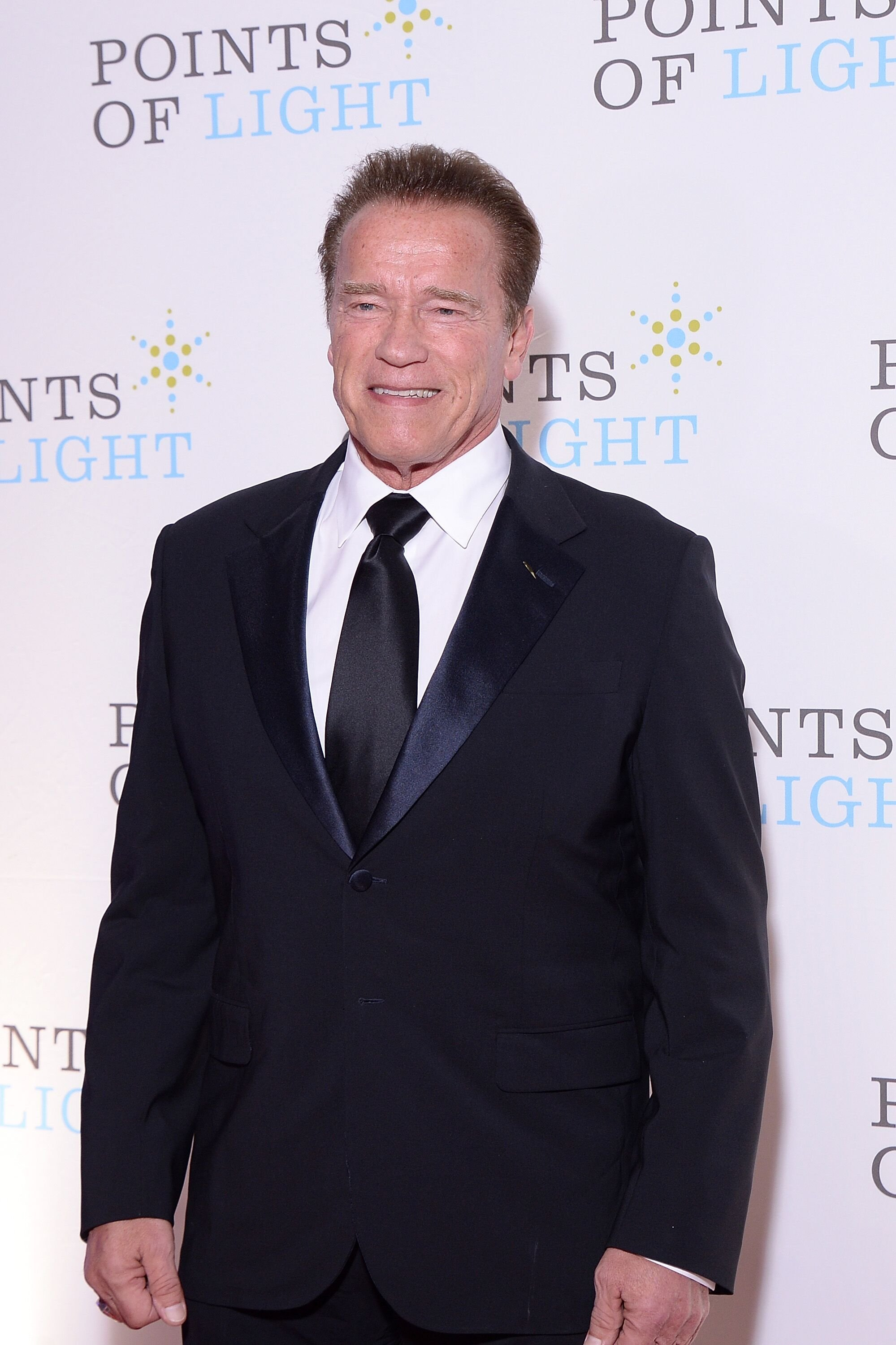 Arnold Schwarzenegger at the Points of Light event. | Source: Getty Images