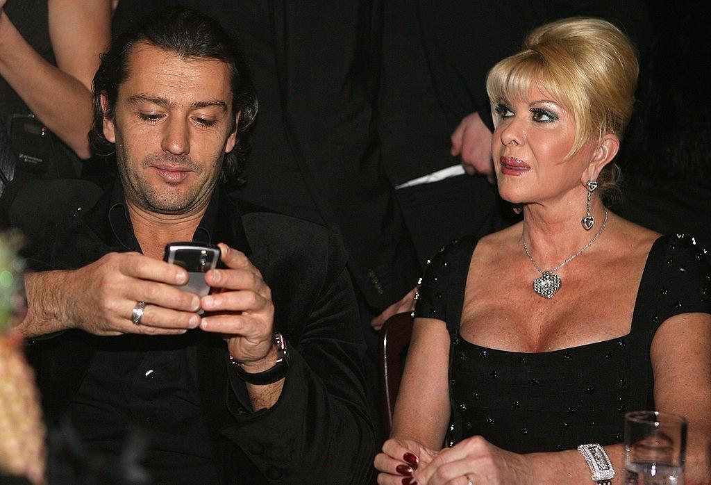 Rossano Rubicondi and Ivana Trump attends the Lambertz Monday Night Schoko & Fashion at the Alten Wartesaal | Photo: Getty Images