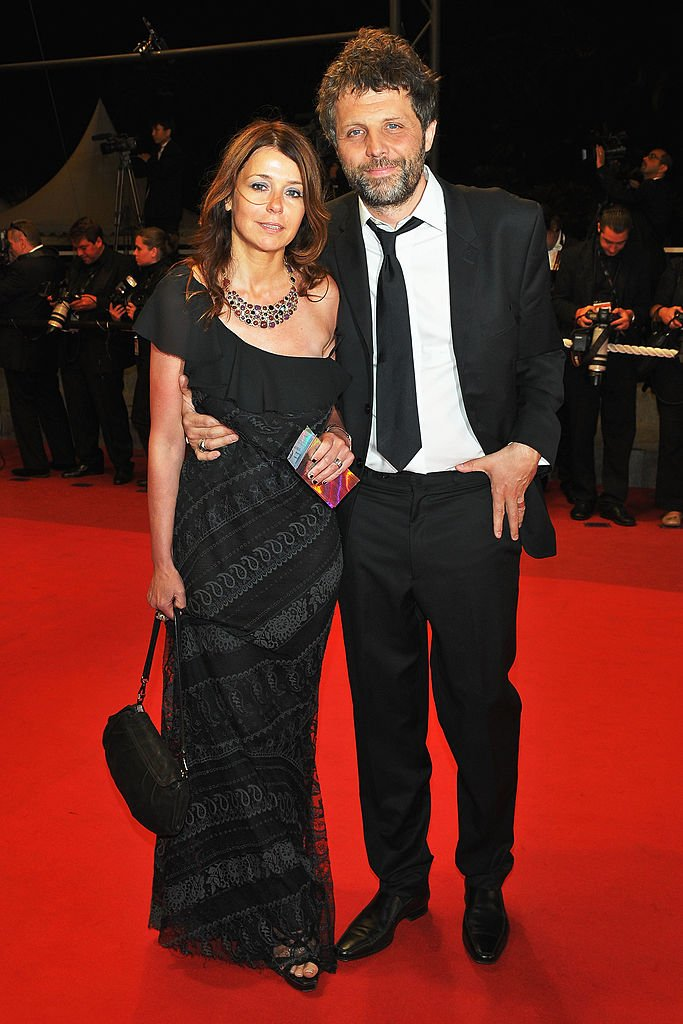 Stéphane Guillon et Muriel Cousin le 22 mai 2009 à Cannes. l Source : Getty Images