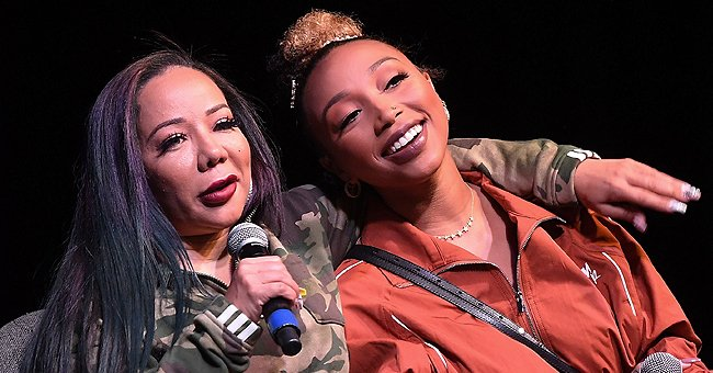 Tiny Harris' Daughter Zonnique Glows with Red Lips in New Selfies after Welcoming Her 1st Child