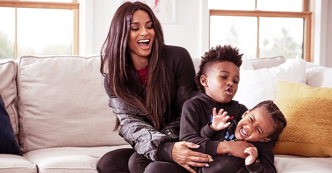 Ciara Shares Adorable Photo with Her Two Kids at Dad Russell Wilson's Seahawks Game