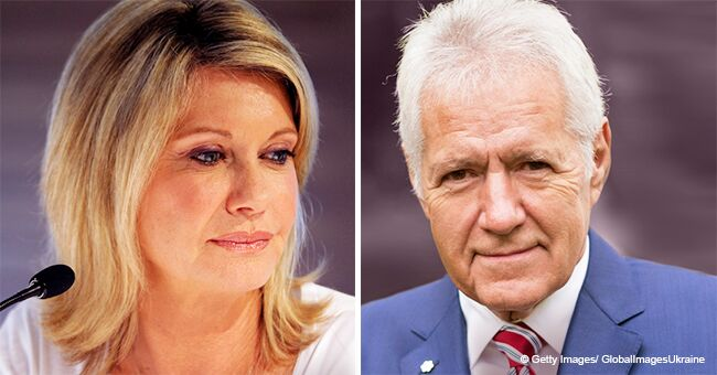 Olivia Newton-John Sent a Comforting Message to Alex Trebek Who Revealed His Stage 4 Cancer