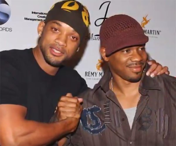 Will Smith and Duane Martin/ Source: YouTube/ The Blast