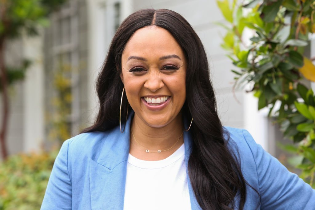 "Tia Mowry visits Hallmark's ""Home & Family"" at Universal Studios Hollywood in Universal City, California 