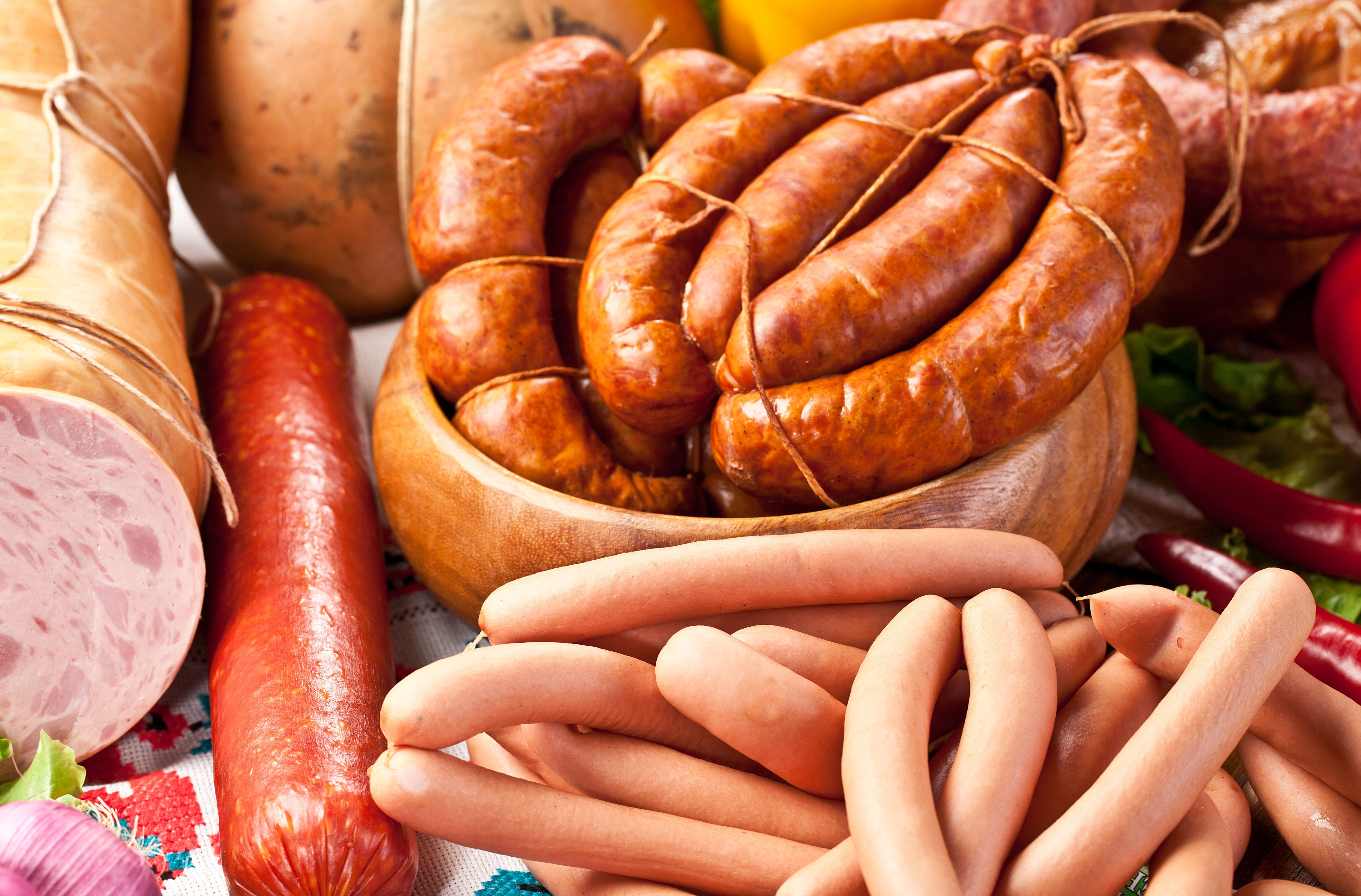 Alimentos procesados. Foto: Shutterstock