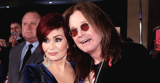 Sharon Osbourne Shares Photo with Husband Ozzy and Their 8 Dogs on Mother's Day