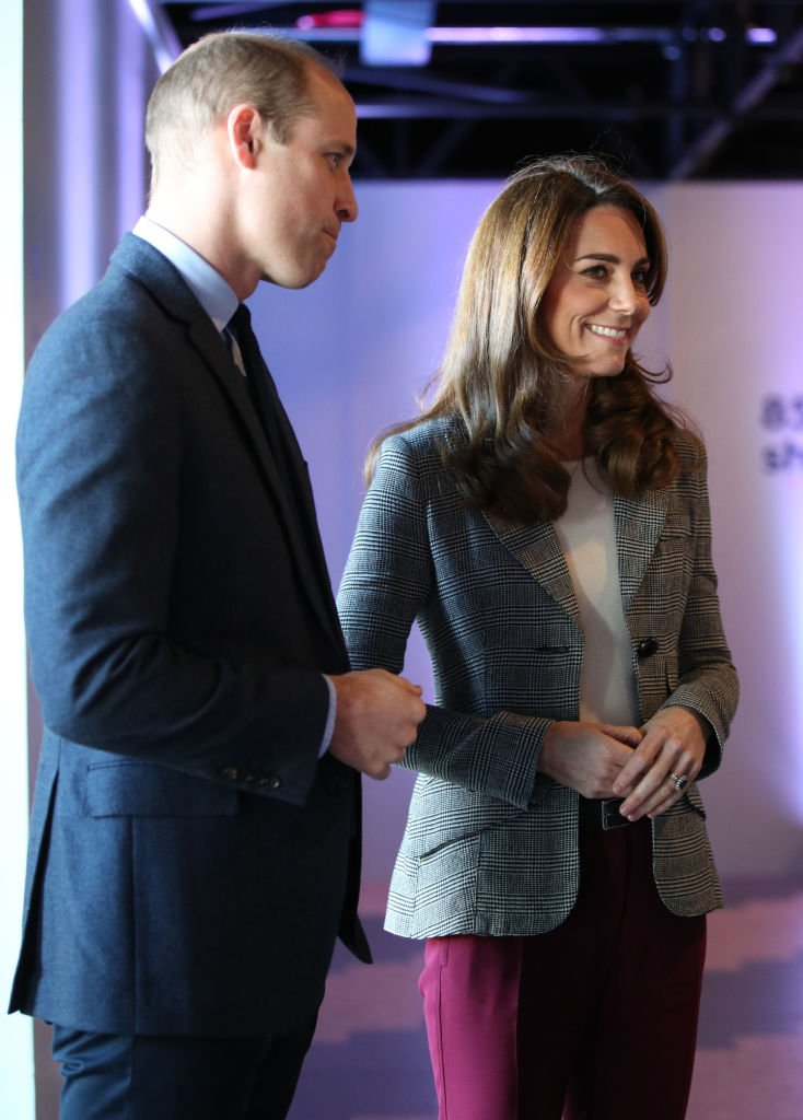 Prince William, Duke of Cambridge and Catherine, Duchess of Cambridge attend Shout's Crisis Volunteer celebration event at Troubadour White City Theatre | Photo: Getty Images