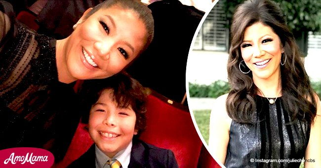 Julie Chen's son is growing by leaps and bounds, and he looks just like mom's cute mini-me