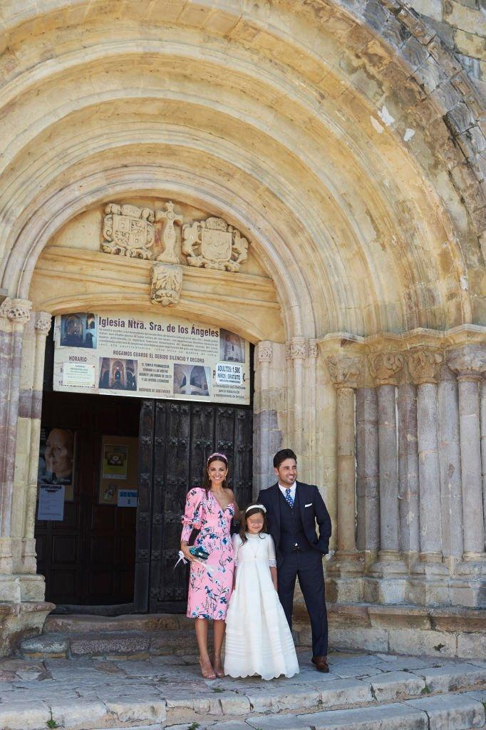 Paula Echevarría, Daniella Bustamante y David Bustamante.| Fuente: Getty Images