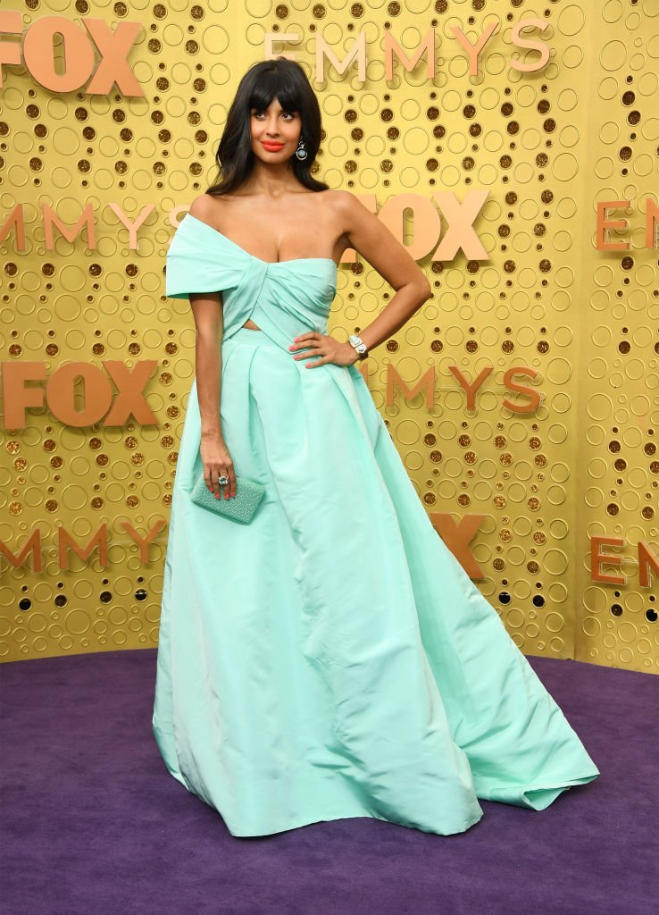 Jameela Jamil attends the 71st Emmy Awards at Microsoft Theater | Getty Images
