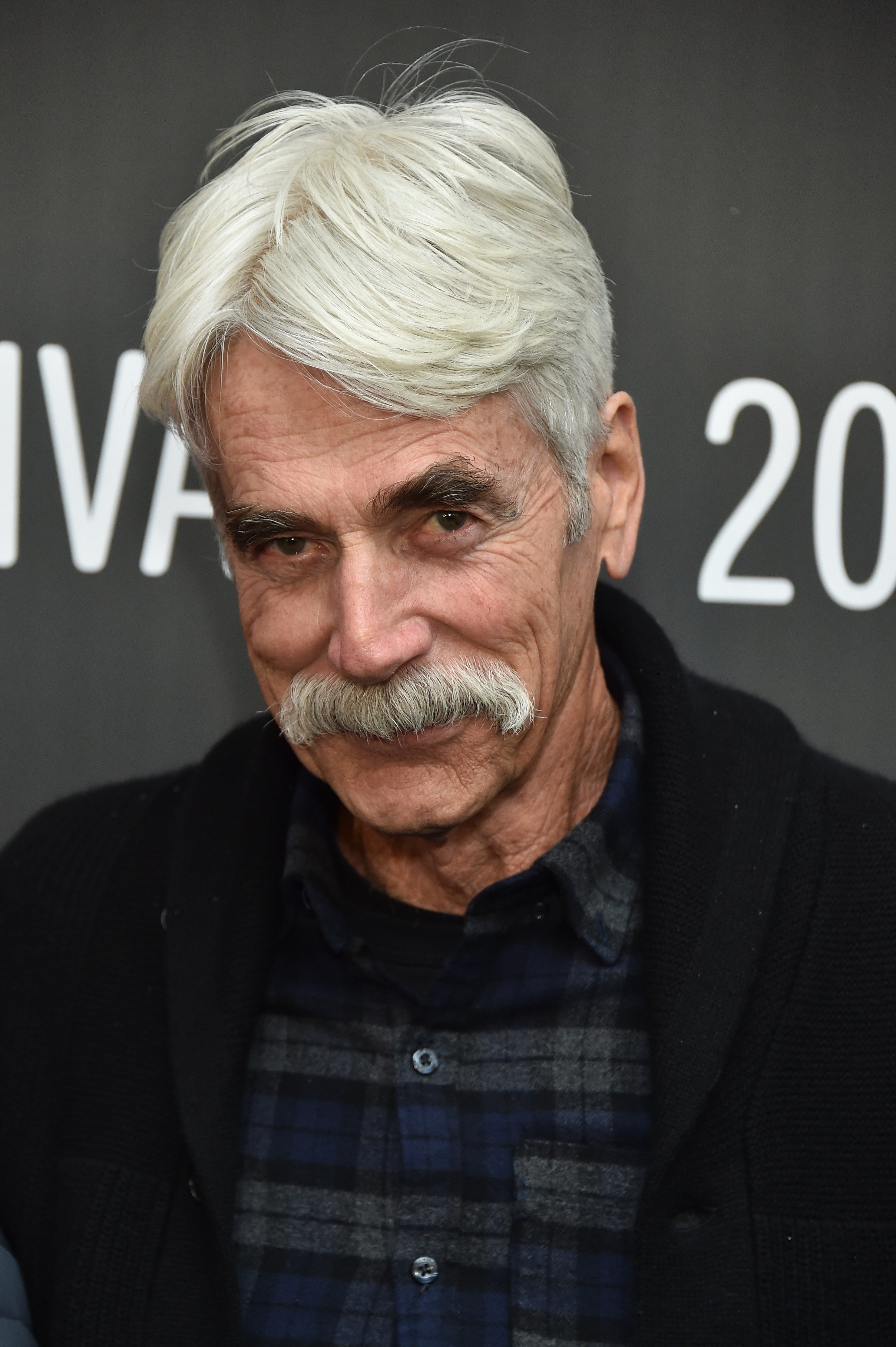 "Sam Elliott at the ""The Hero"" premiere at the Sundance Film Festival on January 21, 2017 