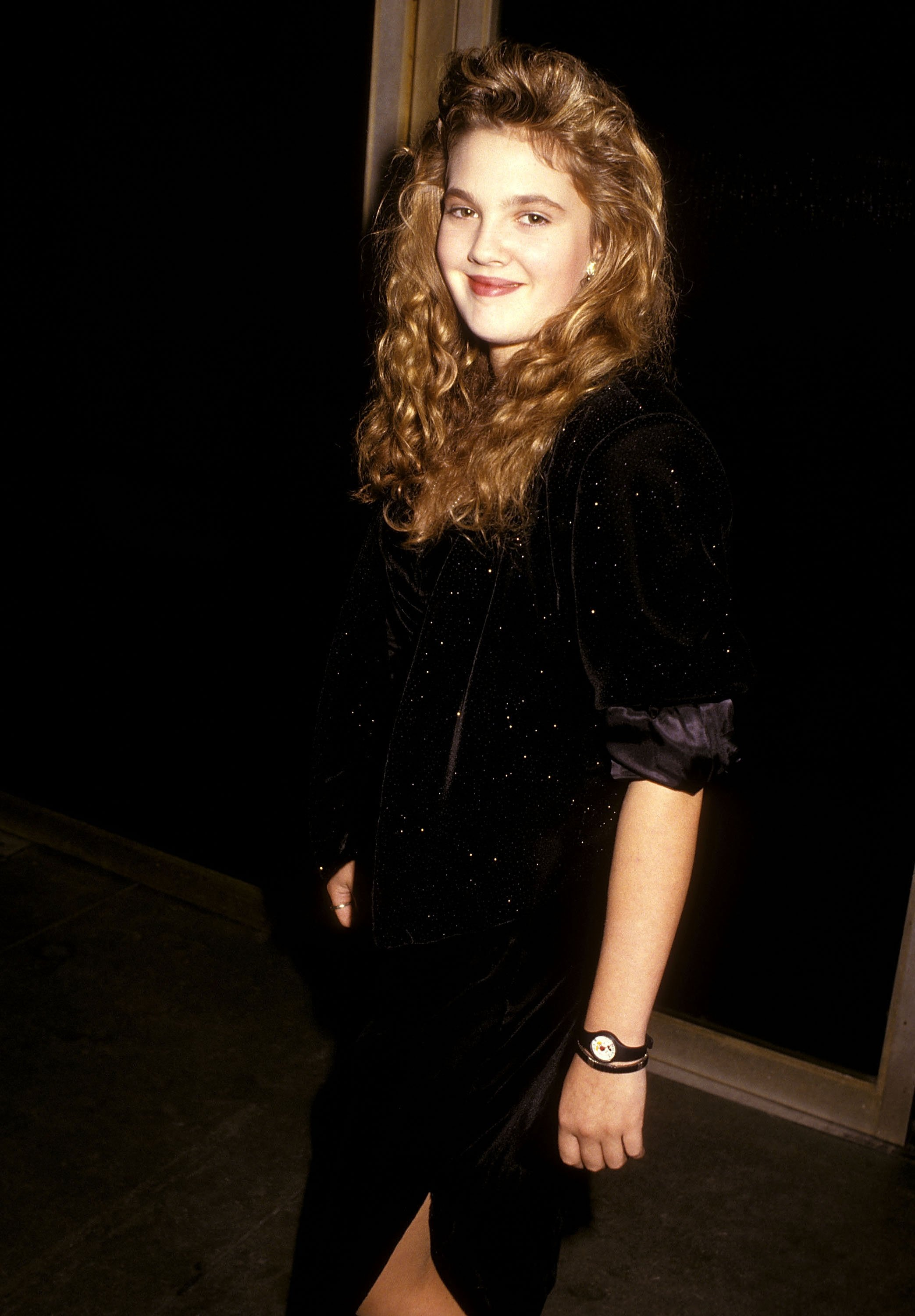 Drew Barrymore attends the Ninth Annual Youth in Film/Young Artist Awards on December 5, 1987 at Hollywood Palladium in Hollywood, California | Photo: Getty Images