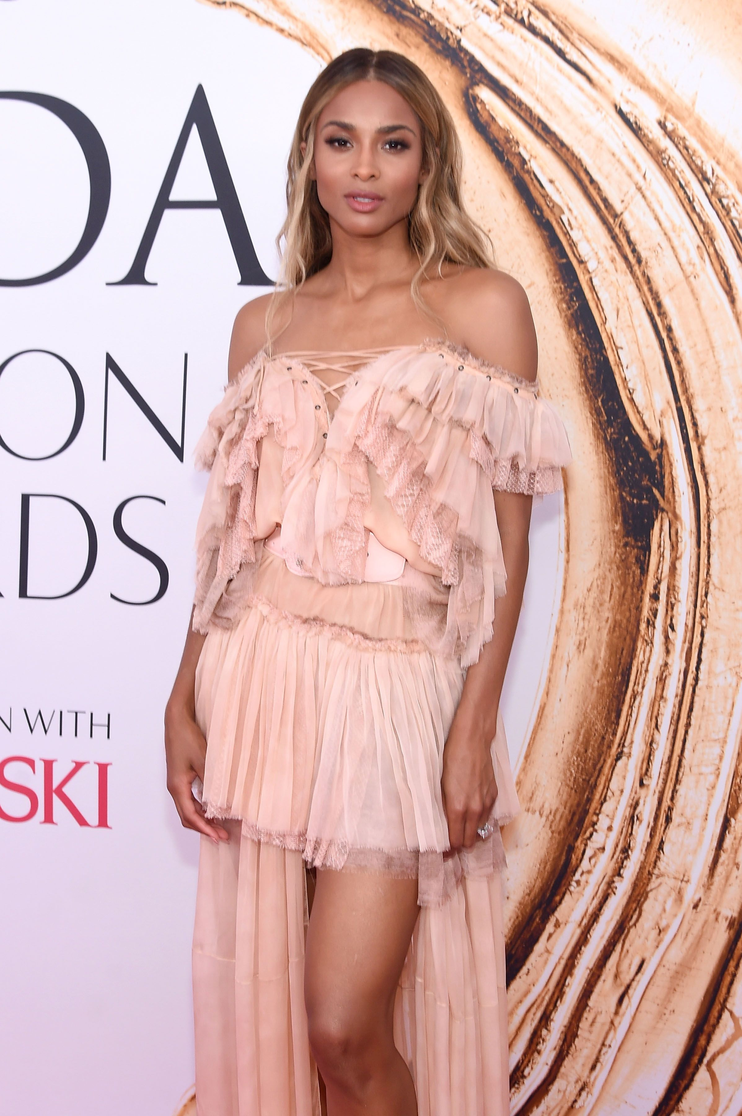 Ciara at the 6th CFDA Fashion Awards  in New York on June 6, 2016 | Photo: Getty Images