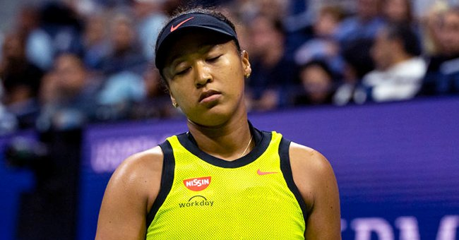 A portrait of Naomi Osaka during the US Open | Photo: Getty Images