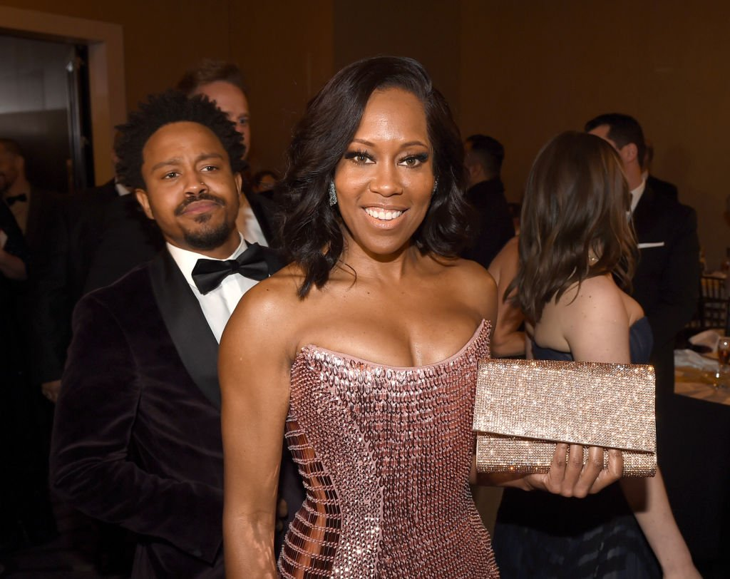 Regina King and her son Ian Alexander Jr. attend the 76th Annual Golden Globe Awards on January 6, 2019.   Photo: GettyImages