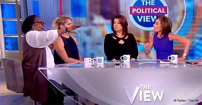 Whoopi Goldberg got into a fight with Jeanine Pirro on 'The View'