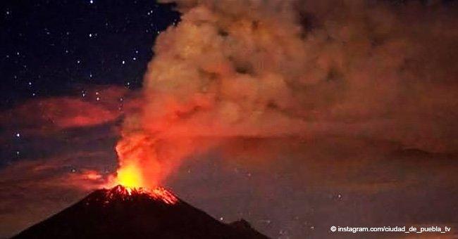 Erupción de Popocatépetl provoca advertencias de lluvia de cenizas y flujos de lodo