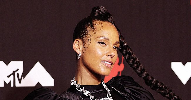 Alicia Keys posing for a photo.   Photo: Getty Images