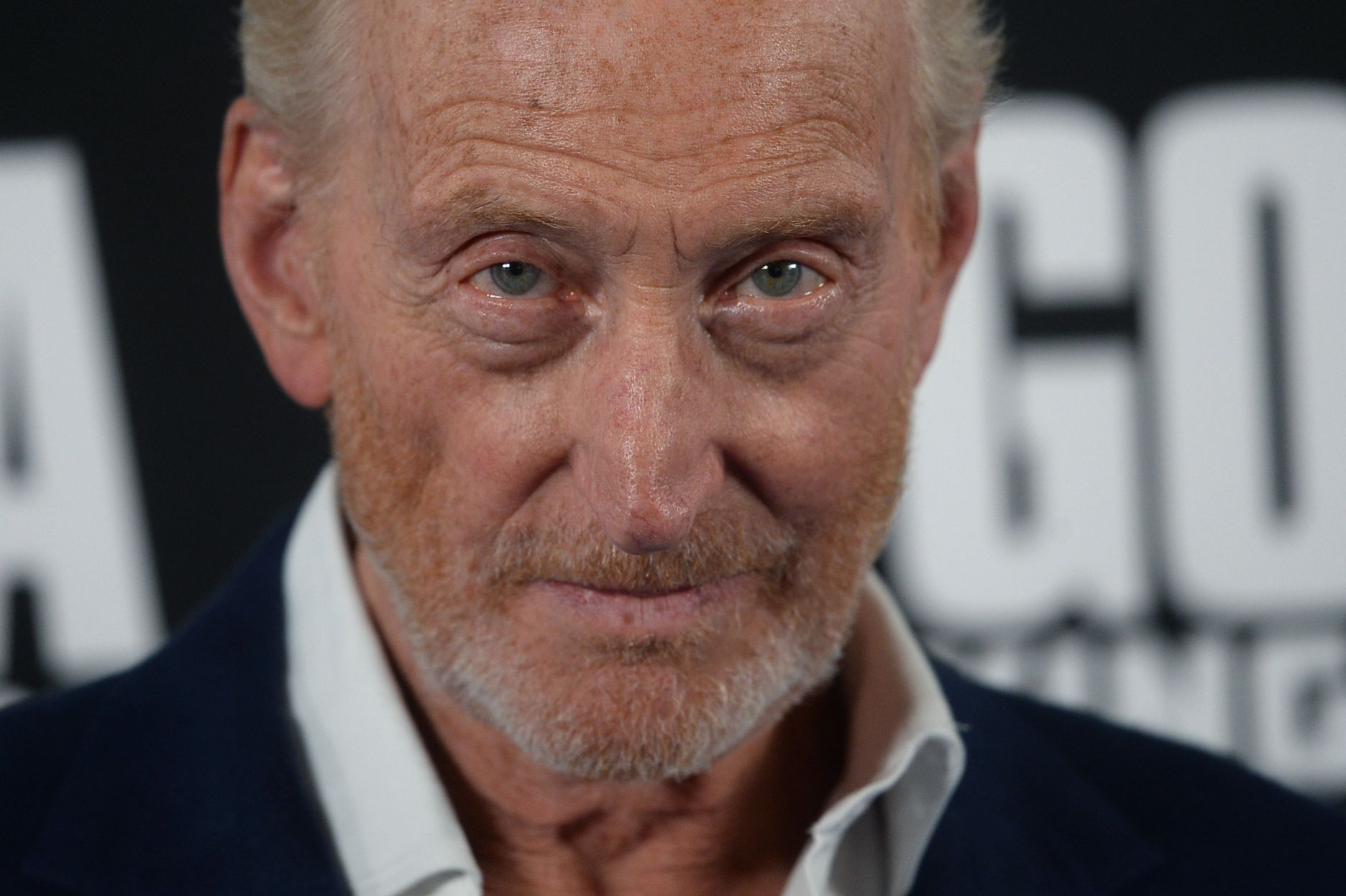 "Charles Dance at the premiere of ""GODZILLA II King of the Monsters"" in 2019 in London, England 