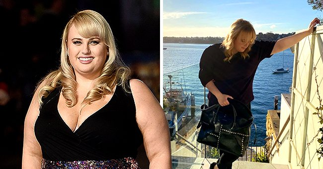 Rebel Wilson Shows off Her Slimmer Figure in a Chic Black Ensemble While at Home