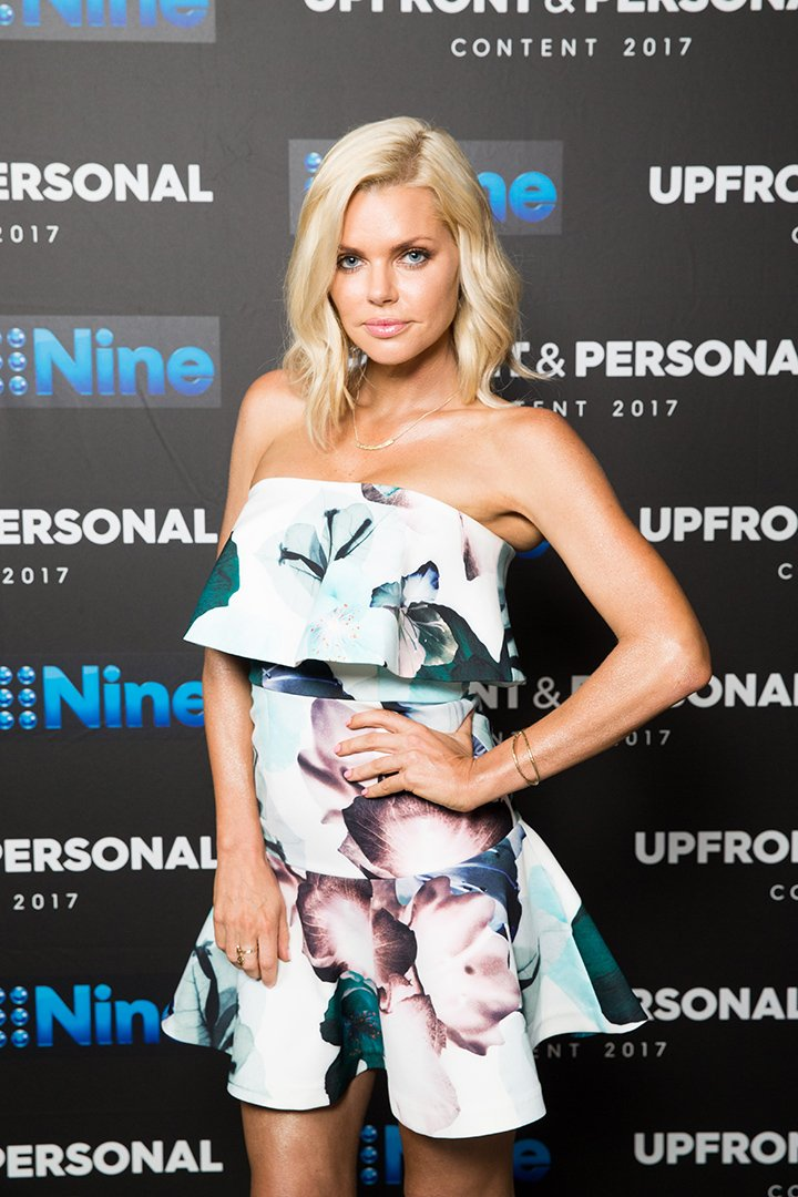 Sophie Monk posing during the Channel Nine Up fronts at The Star in Sydney, Australia in November 2016. I Image: Getty Images.