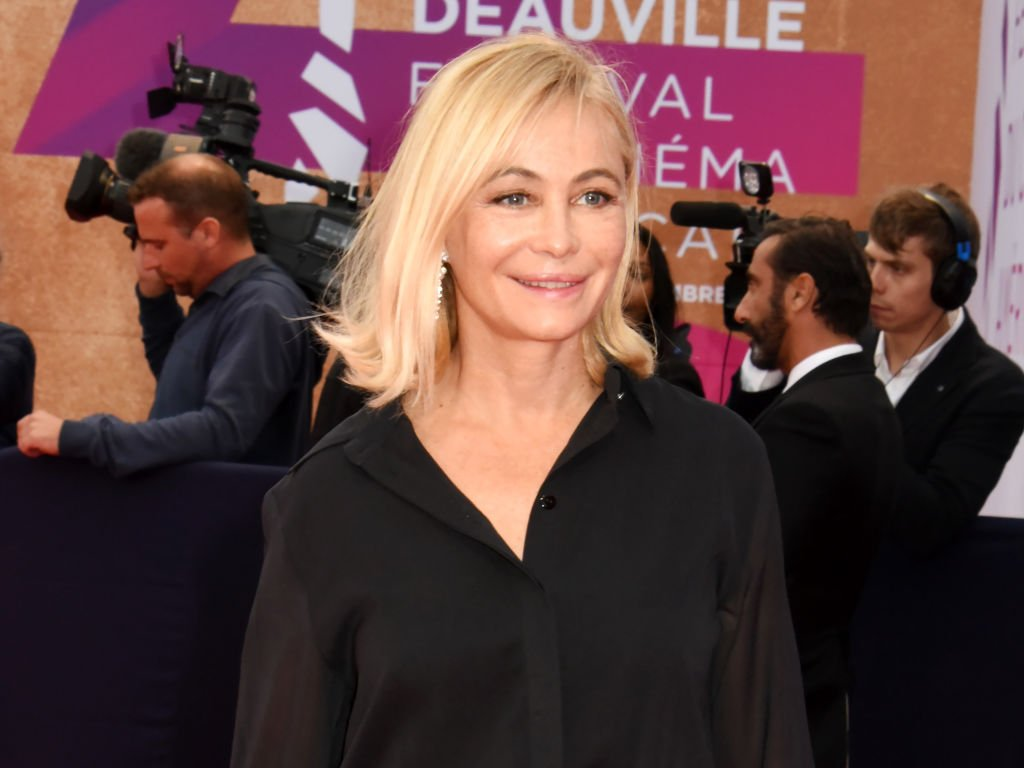Emmanuelle Béart, Festival du film de Deauville, 2019| source : Getty Images