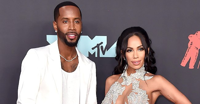 Erica Mena & Safaree's Daughter Safire Melts Hearts as She Kisses Her Dad on the Cheek (Video)