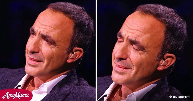 Nikos Aliagas n'a pas pu retenir ses larmes pendant le nouveau spectacle à cause d'une chanson spéciale pour lui