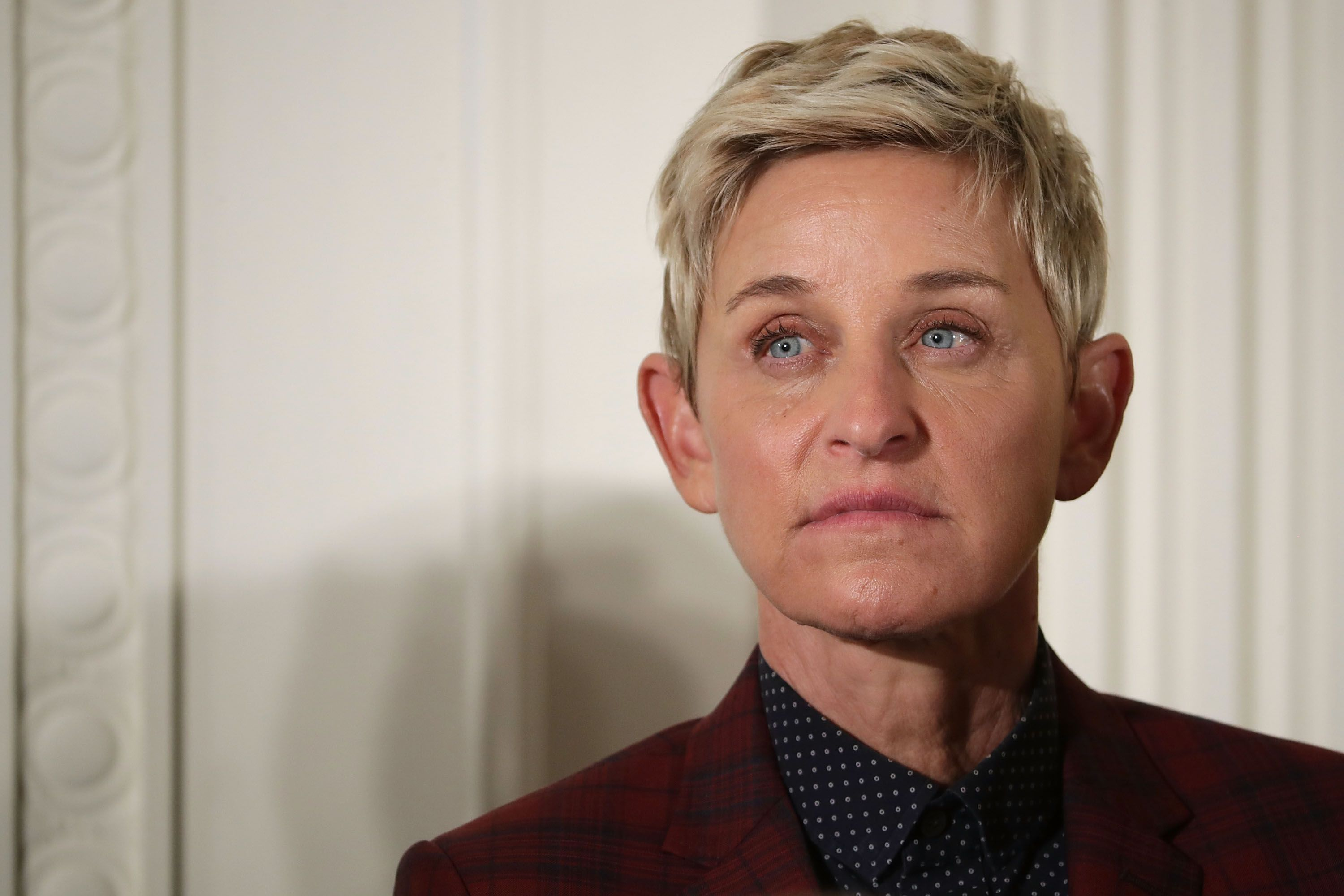 Ellen DeGeneres being awarded the Presidential Medal of Freedom during a ceremony at the White House on November 22, 2016, in Washington, DC.   Photo: Chip Somodevilla/Getty Images